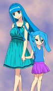 Celeste y Twila