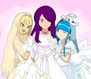 Dayann celine y celeste boda