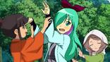 Okatsu teaching Midori and Akane