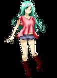 Anime girl 2 render by sandclock-d57qj3f