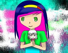 Claire(muñeco)y Maiko