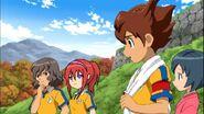 Takuto,Runa,Tenma y Aoi