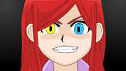 Ahiru poseída por Nanami, el fantasma