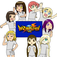 Inazuma eleven group by cocoscaret
