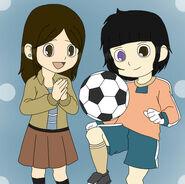 Tsutomu y Amane children
