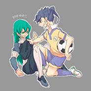Asuka y Tsurugi