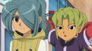 Kazemaru and Midorikawa IE 78 HQ