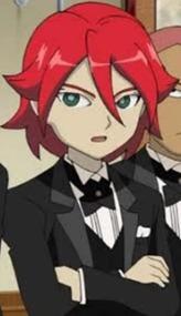 Hiroto in his Tuxedo