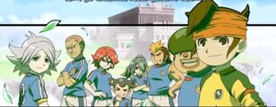 Red team's Inazuma Japan Members