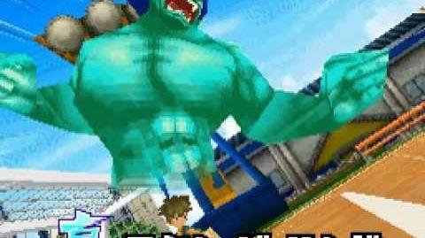 Inazuma eleven 3 Challenge to the world - Majin the Hand (Blue ver.)