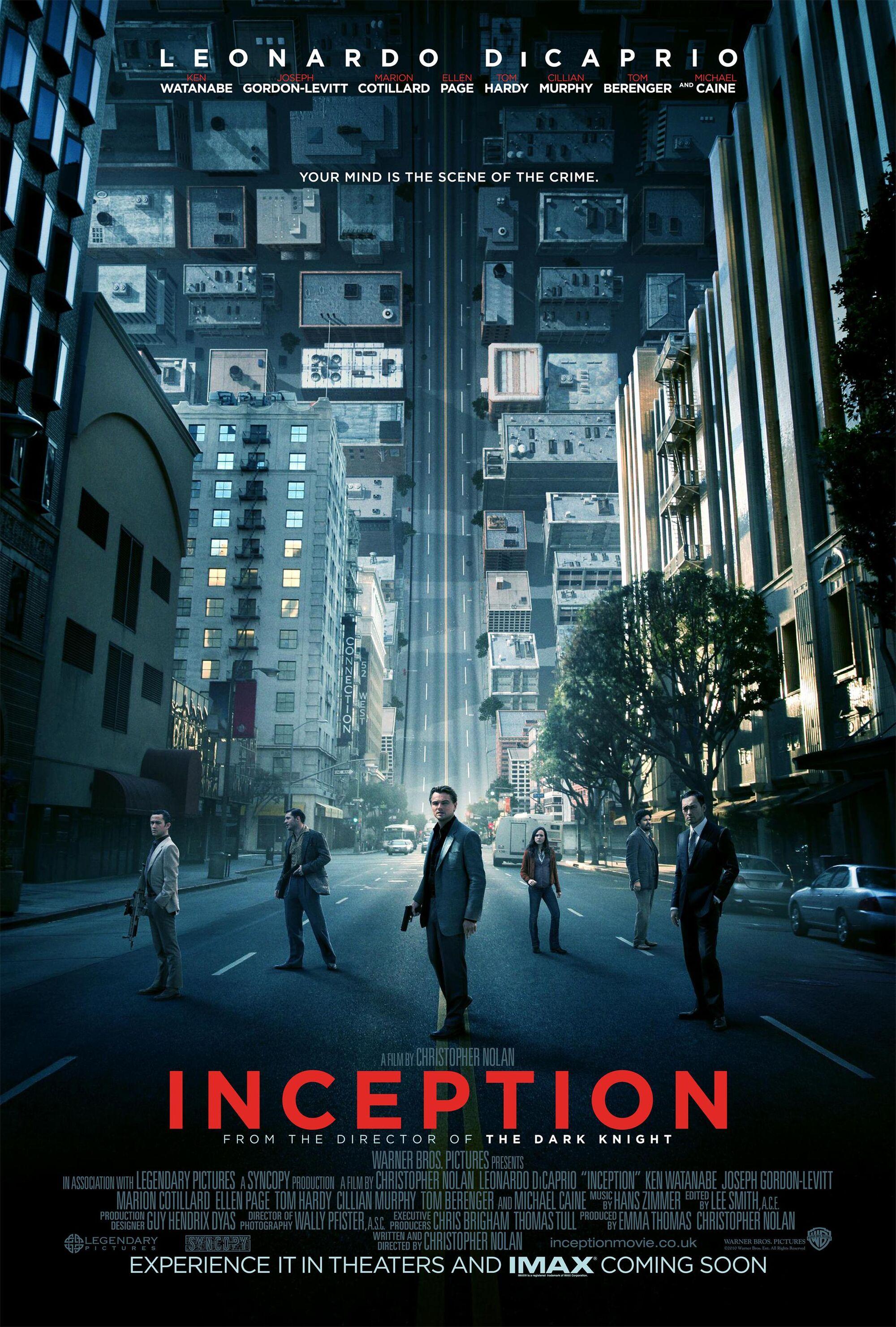 Inception Film Inception Wiki Fandom Powered By Wikia