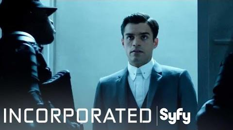 INCORPORATED Season 1 Finale 'Welcome to the 40th Floor' Syfy