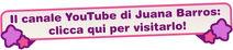 Juana Barros - Canale YouTube