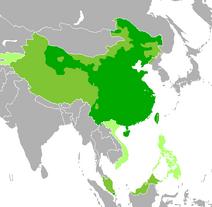 Map-Sinophone World