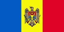 Moldova flag 300