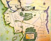 Kaart van Beleriand