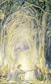 Frodo met Gildor