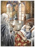Gandalf en frodo