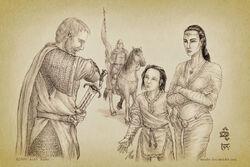 Hurin Departs to Nirnaeth Arnoediad