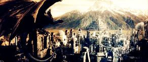 Tovenaar-koning bij Minas Tirith