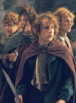 Hobbits op weathertop