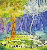 De twee bomen