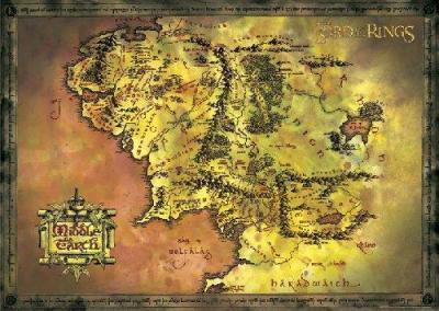 Maxi-Posters-Lord-of-the-rings---Classic-Map-71538