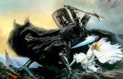 Melkor combat