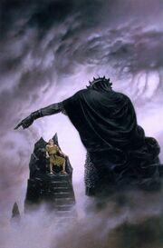Hurin vervloekt door Melkor