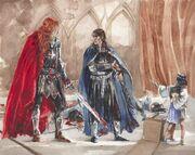 Maglor,Elrond en Elros