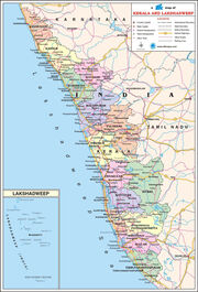 Kerala-Travel-Map