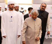 With Dr. APJ Abdul Kalam to the venue