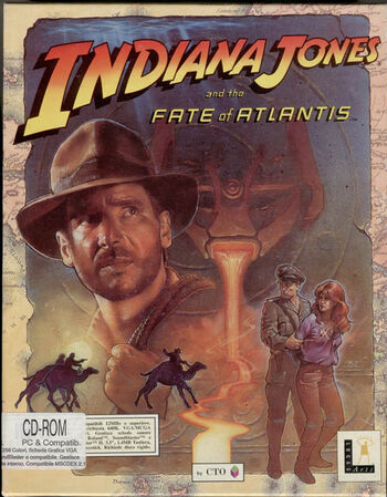 Indiana jones and the fate of atlantis indiana jones wiki fandom indiana jones and the fate of atlantis publicscrutiny Image collections