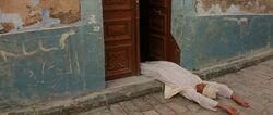 Cairo Henchman unconscious