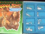 The Adventures of Indiana Jones Unpainted Metal Miniatures
