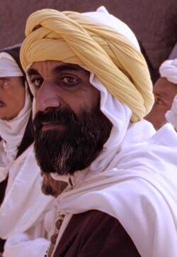 Man in Yellow Turban