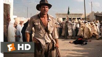 Raiders of the Lost Ark (3-10) Movie CLIP - Sword vs. Gun (1981) HD