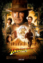 1981 Indiana Jones and the Kingdom of the Crystal Skull poster