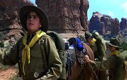 ผลการค้นหารูปภาพสำหรับ indiana jones 4 scene boy scout