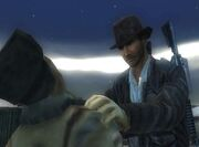 Mercenaries Indiana Jones Skin Cheat Code