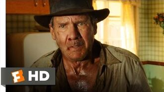 Indiana Jones and the Kingdom of the Crystal Skull (2-10) Movie CLIP - Saved By the Fridge (2008) HD