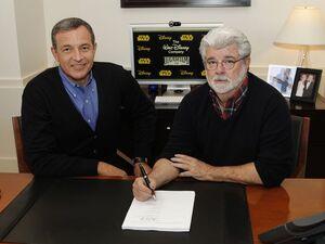 Lucas selling Lucasfilm in 2012