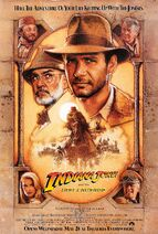1989 Indiana Jones and the Last Crusade poster