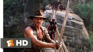 Indiana Jones and the Temple of Doom (9-10) Movie CLIP - The Rope Bridge (1984) HD