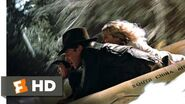 Indiana Jones and the Temple of Doom (2-10) Movie CLIP - Raft Jump (1984) HD