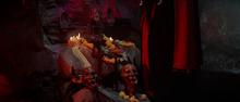 Kali blood fountain
