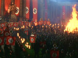 Berlin bookburning rally