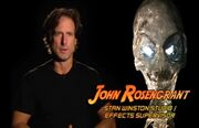 Crystal Skull Making of pic 3