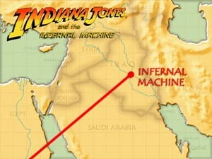Indiana jones and the infernal machine indiana jones wiki fandom example of the film inspired loading screen gumiabroncs Image collections