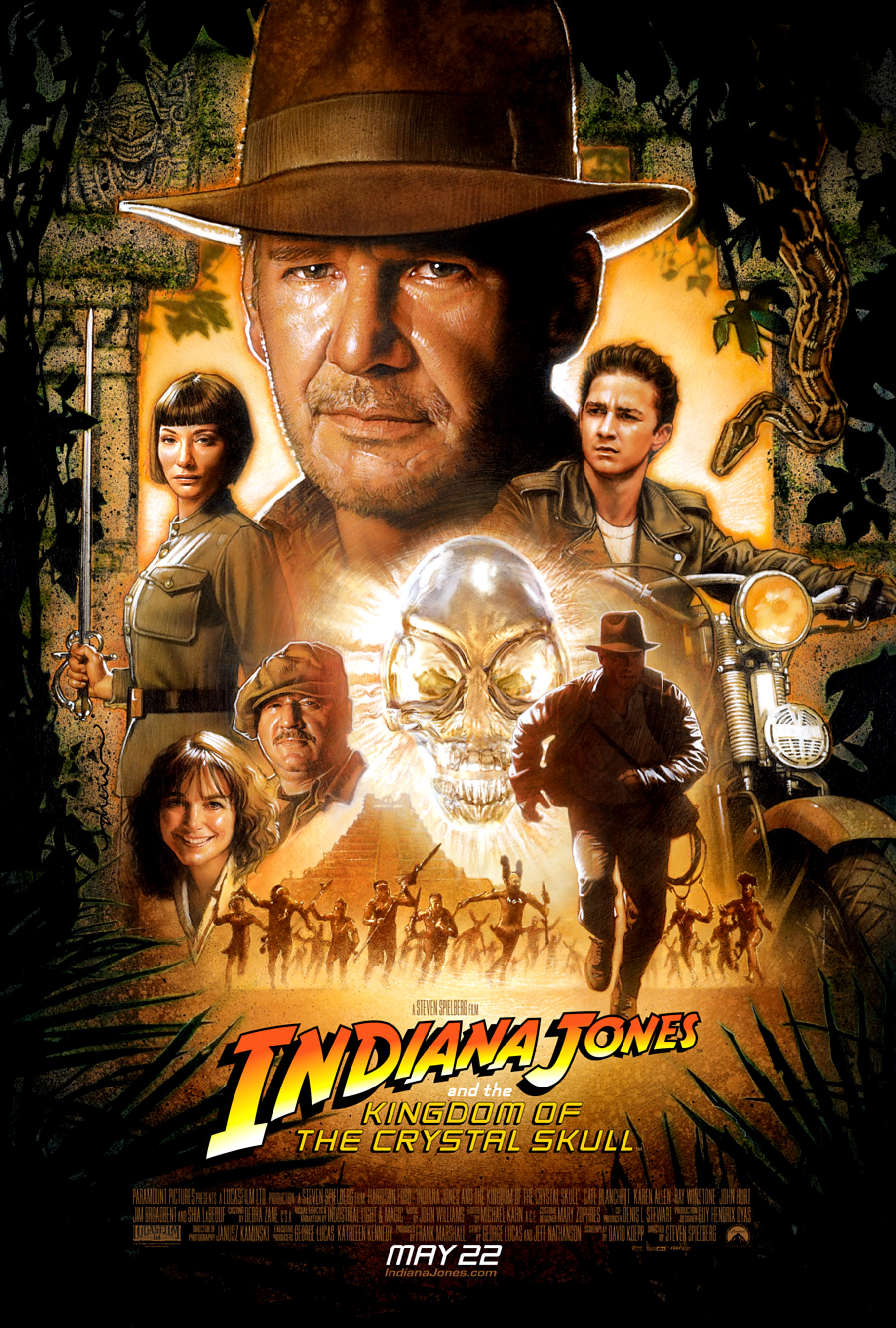 Indiana Jones And The Kingdom Of The Crystal Skull Indiana